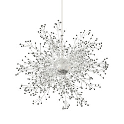 Firework style crystal chandeliers