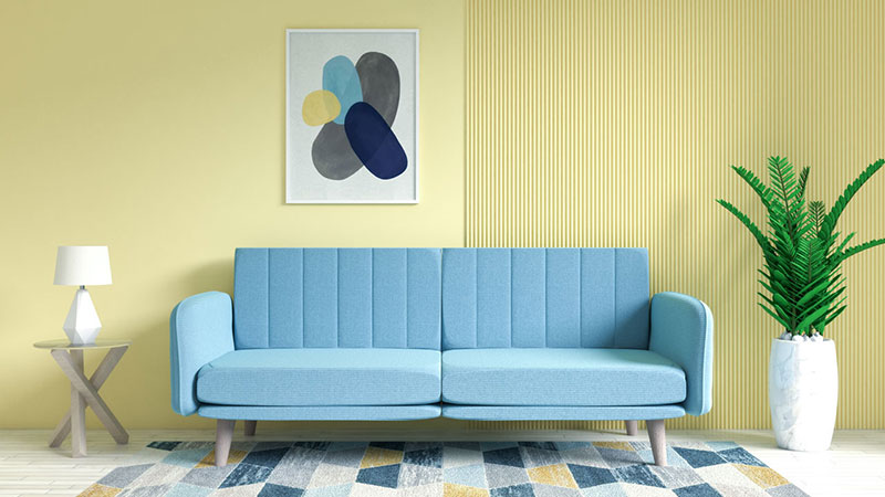 What Color Couch Goes with Yellow Walls? (9 Best Colors Chosen by Expert)