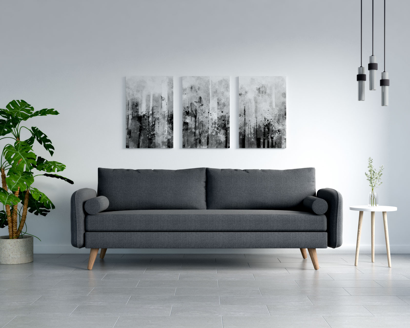 What Color Couch Goes With Gray Floors, What Colour Sofa Goes With Grey Flooring