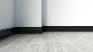 What Color Baseboard with Gray Floor?
