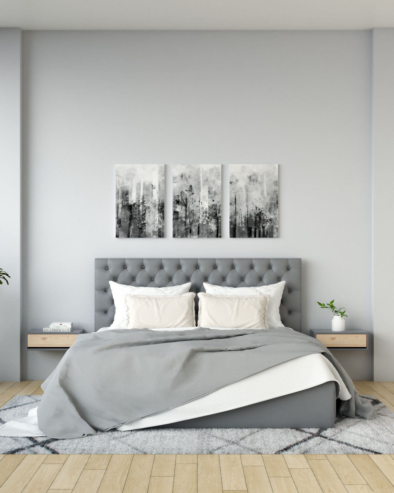 Light gray wall