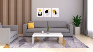 Accent Color Ideas for Gray Living Room