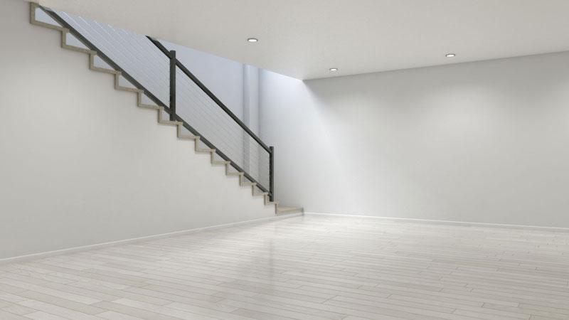 Best Floor Color for Dark Basement