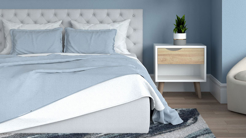 7 Best Bedding Colors for Blue Bedroom (With Image Examples)
