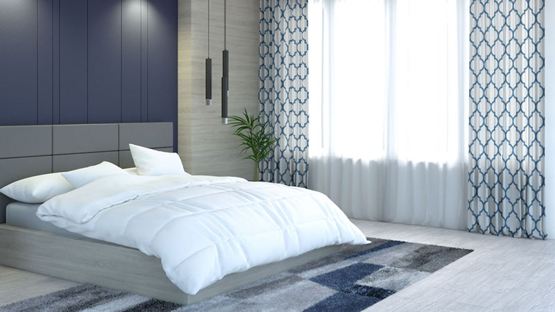Best Blue Curtains for Modern Homes