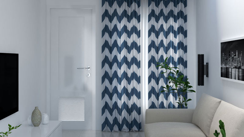 Best Curtains Pattern for Small Room