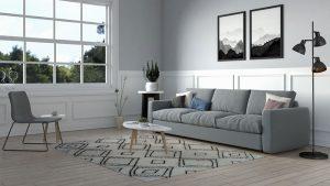Best Rug for Scandinavian Living Room (10 Stylish Options)
