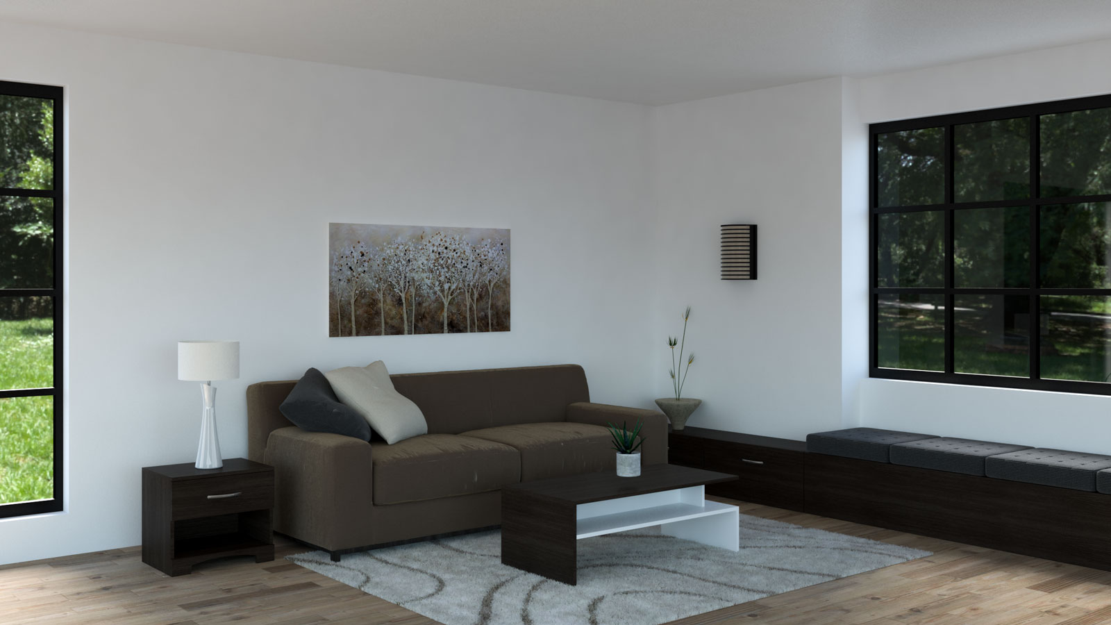 Brown and espresso living room ideas