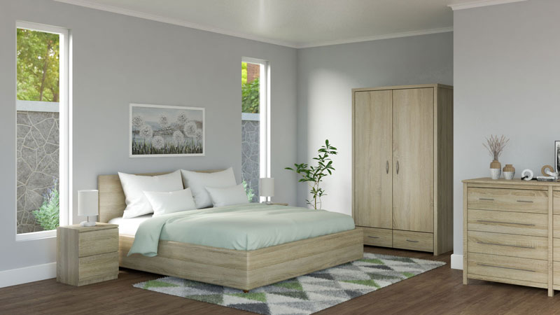 What Color Bedding Goes with Oak Furniture?
