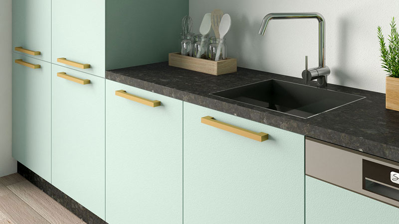 What Color Cabinets Goes with Black Granite Countertops?