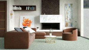 What Color Carpet Goes with Chocolate Brown Furniture?