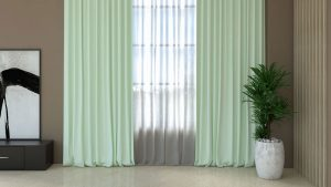 What Color Curtains Go with Brown Walls?