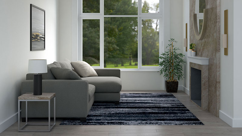 Best Rug Pattern for Small Room (To Make it Visually Looks Bigger)