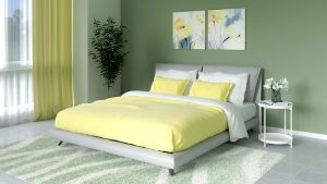 What Color Walls Go with Yellow Bedding?