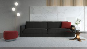 What Color Ottoman Goes with a Black Couch?
