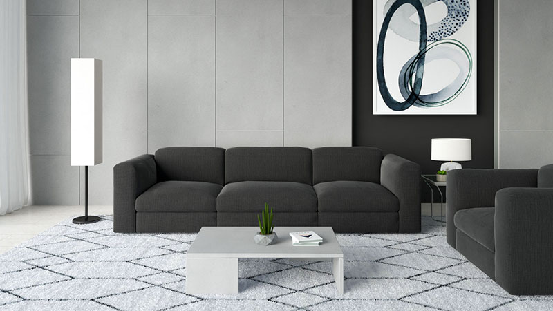 What Color Coffee Table Goes with Black Couch?