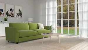 What Color Rug Goes with Olive Couch?